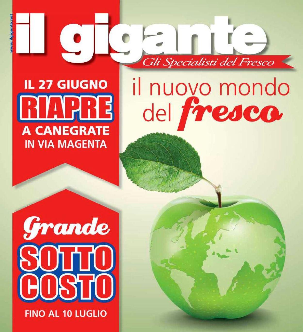 Volantino Il Gigante - Offerte 27/06-10/07/2019