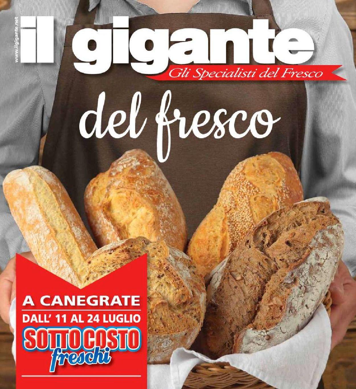 Volantino Il Gigante - Offerte 11/07-24/07/2019