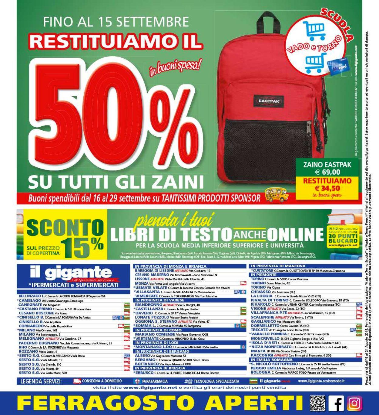 Volantino Il Gigante - Offerte 08/08-18/08/2019 (Pagina 24)