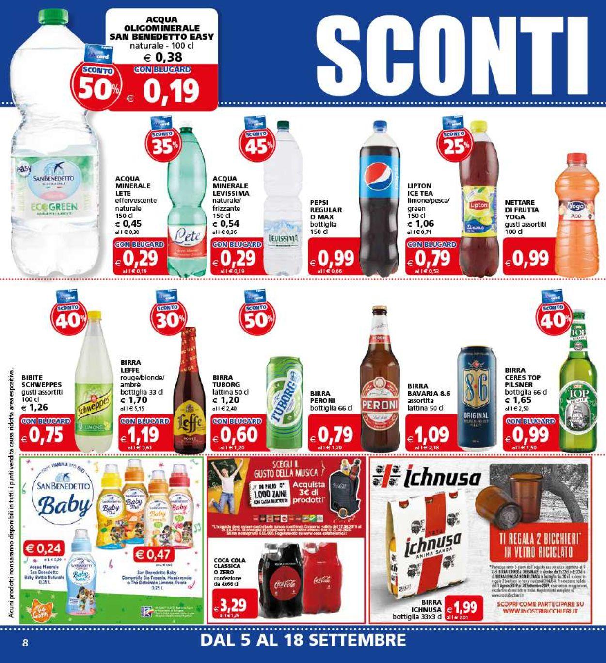 Volantino Il Gigante - Offerte 05/09-18/09/2019 (Pagina 8)