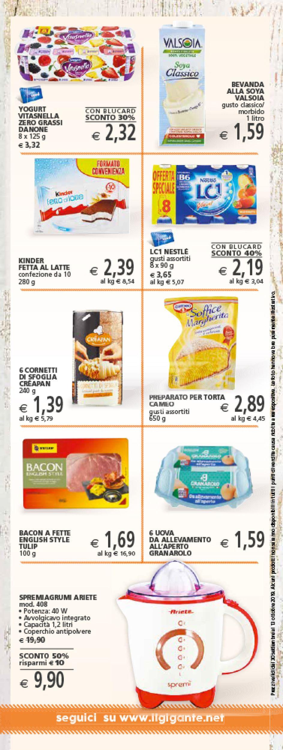 Volantino Il Gigante - Offerte 30/09-13/10/2019 (Pagina 16)