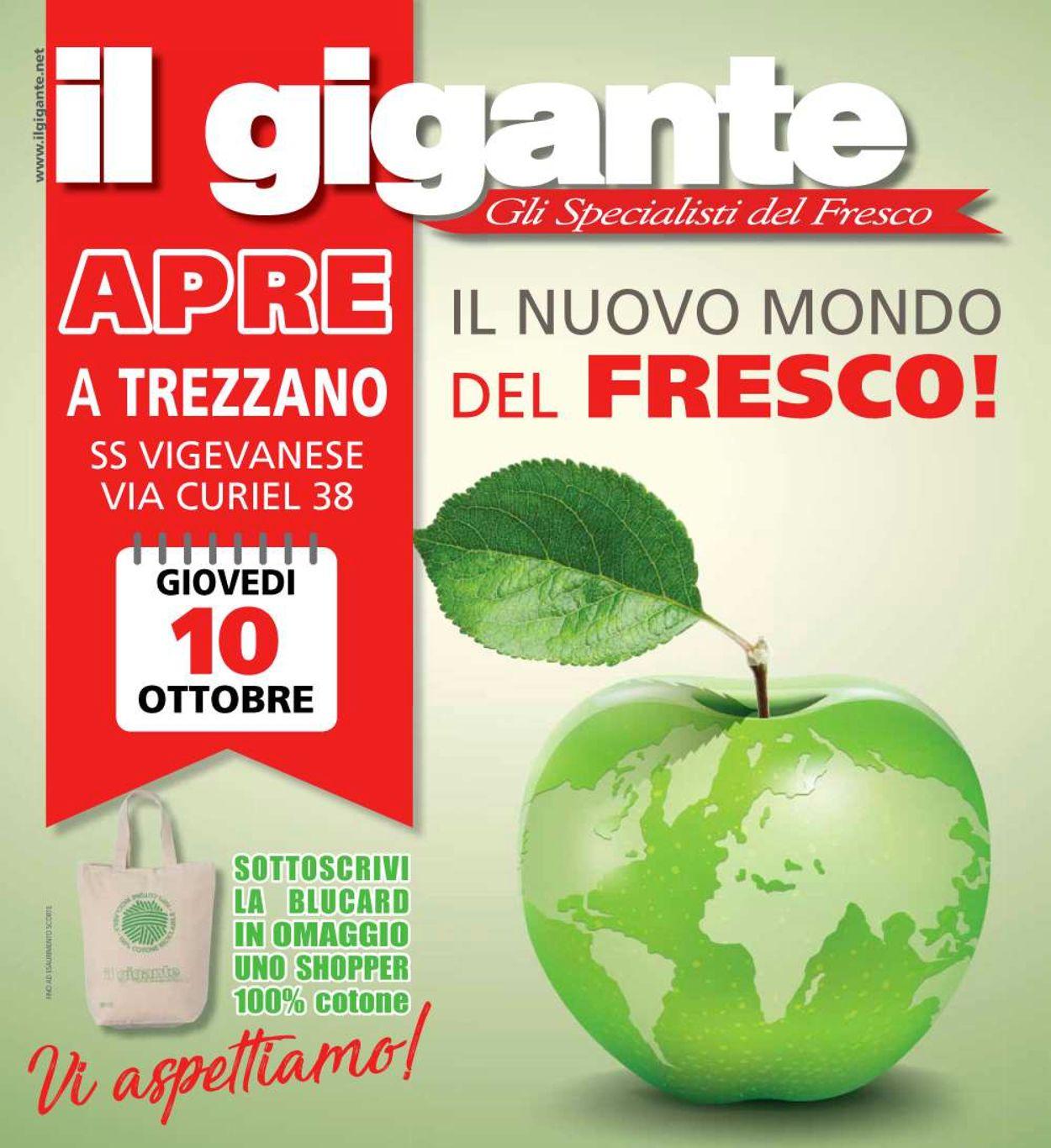 Volantino Il Gigante - Offerte 10/10-23/10/2019