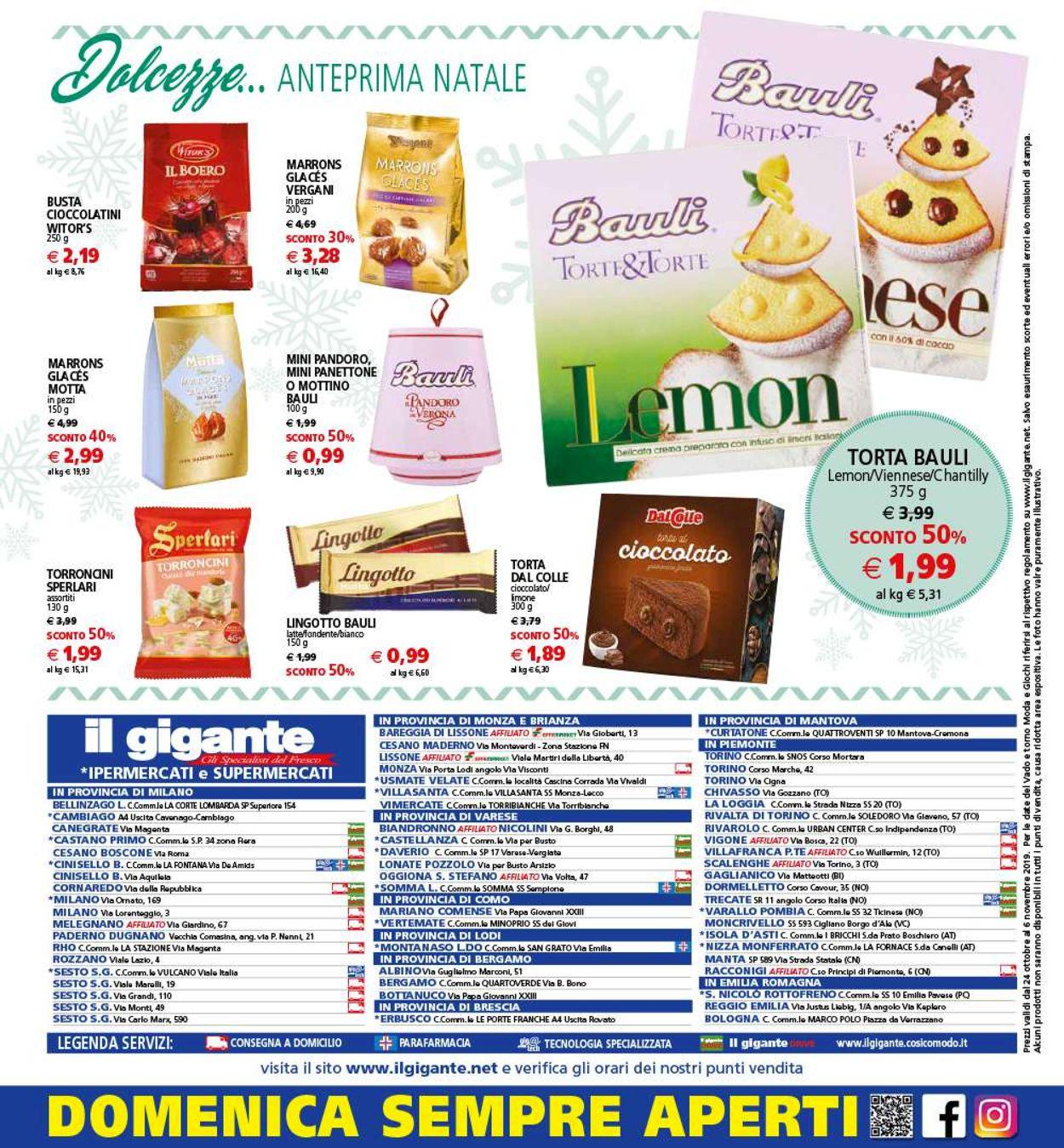 Volantino Il Gigante - Offerte 24/10-06/11/2019 (Pagina 32)