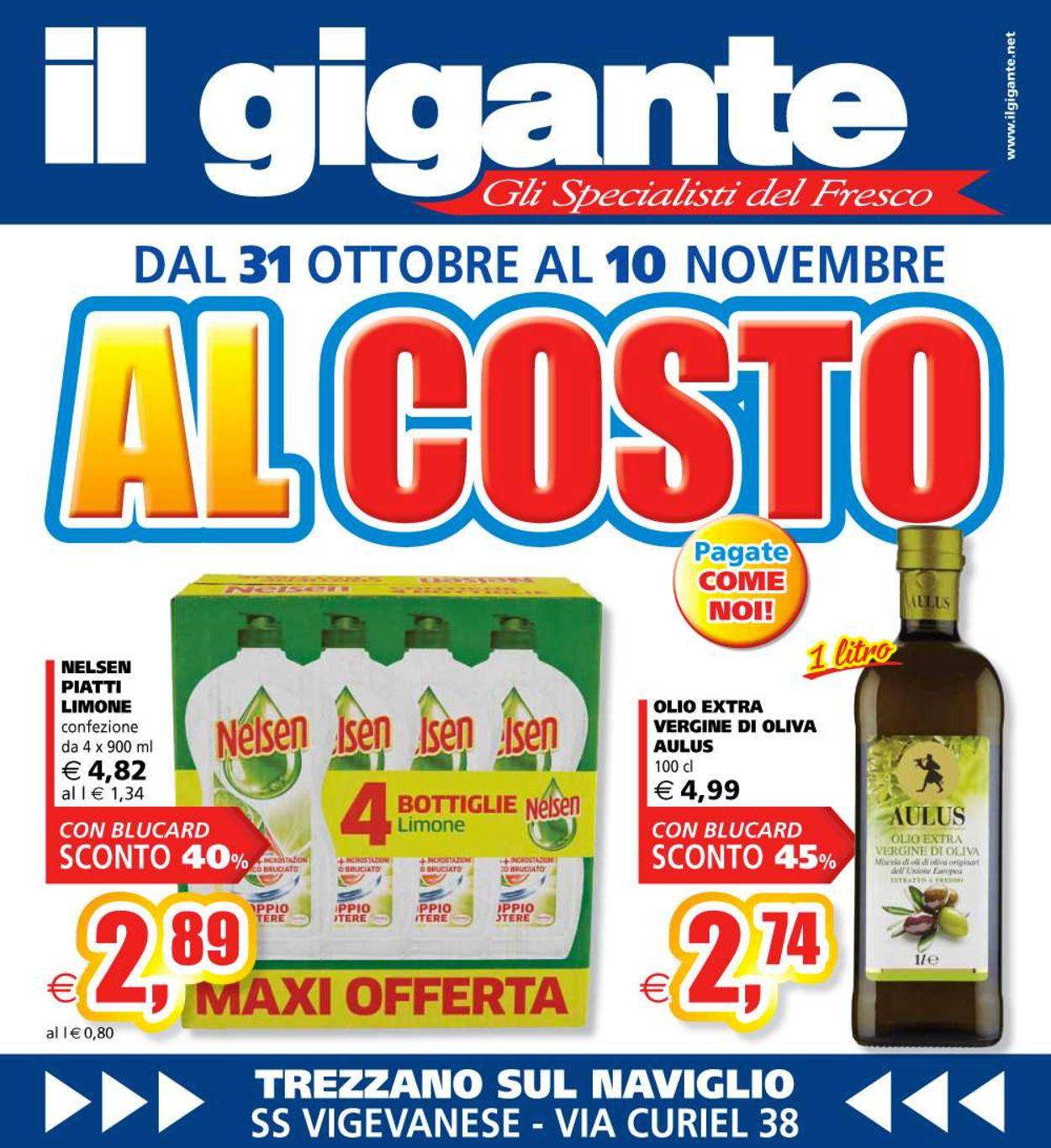Volantino Il Gigante - Offerte 31/10-10/11/2019