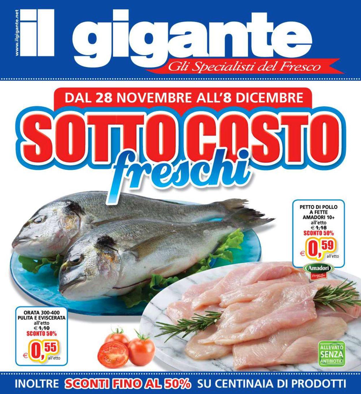 Volantino Il Gigante - Offerte 28/11-08/12/2019