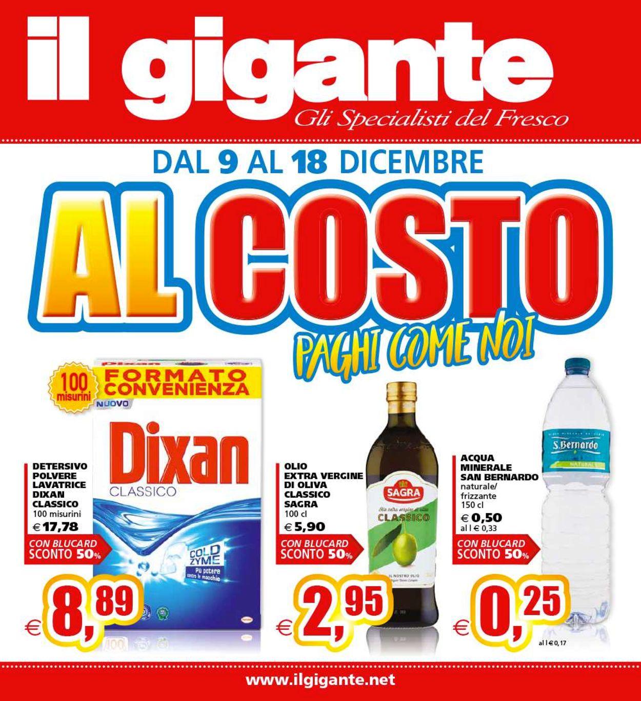 Volantino Il Gigante - Offerte 09/12-18/12/2019