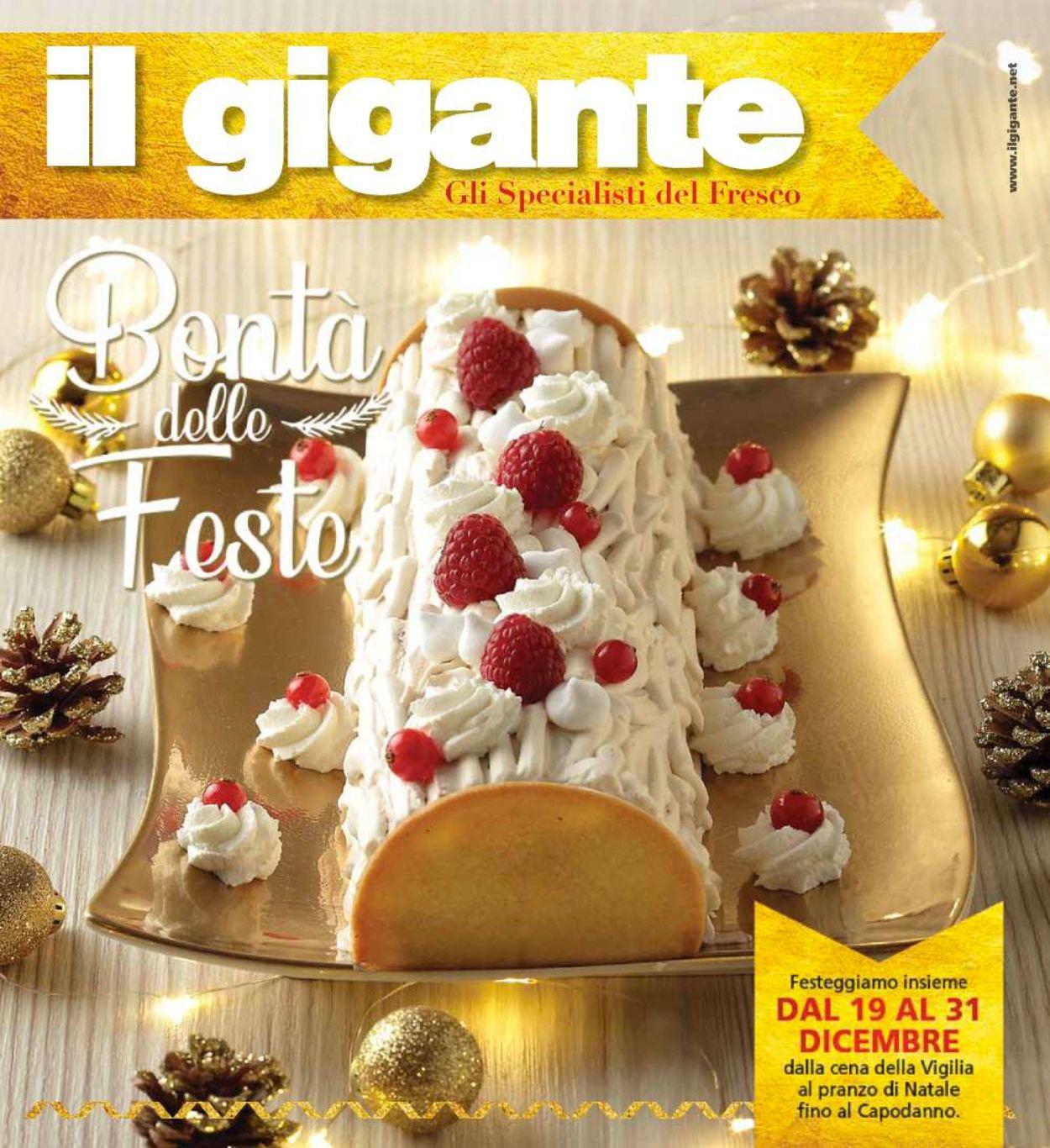 Volantino Il volantino natalizio di Il Gigante - Offerte 19/12-31/12/2019