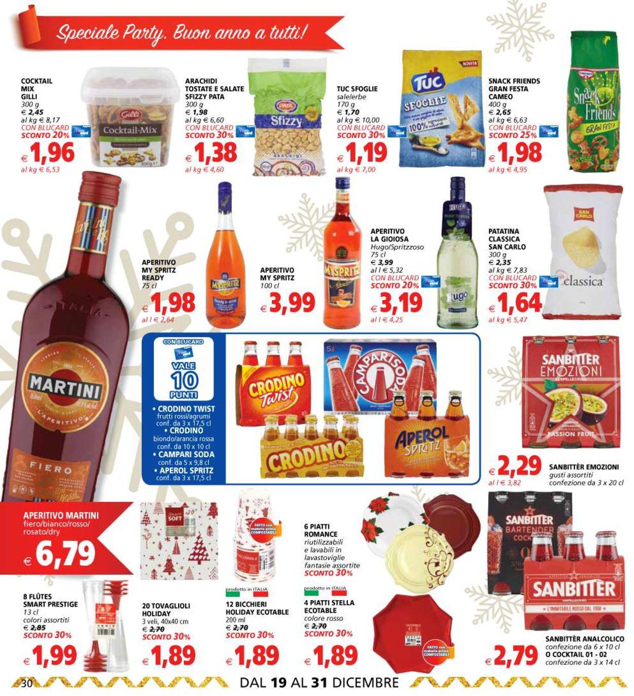 Volantino Il volantino natalizio di Il Gigante - Offerte 19/12-31/12/2019 (Pagina 30)