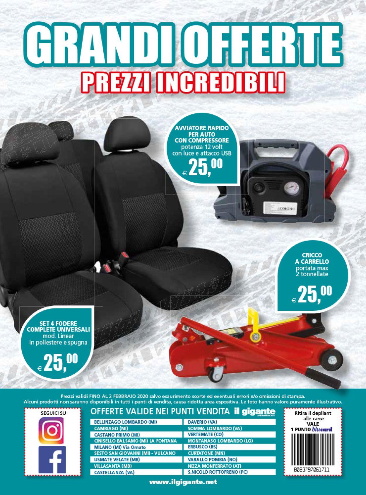 Volantino Il Gigante - Offerte 23/12-02/02/2020 (Pagina 12)