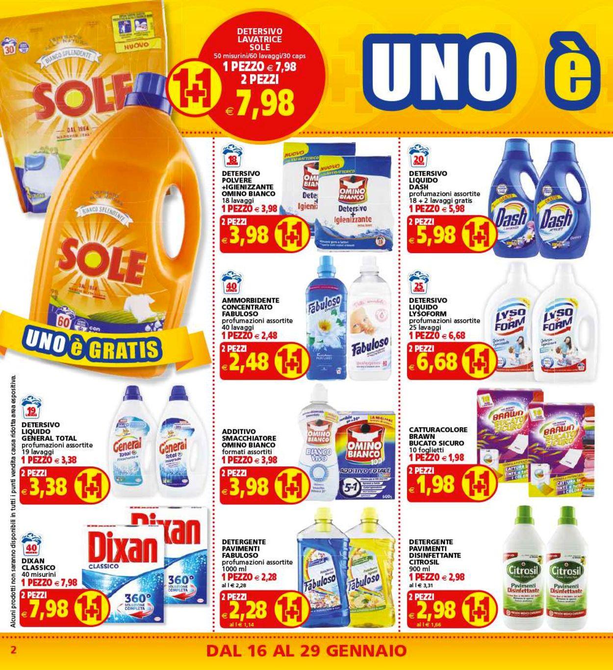 Volantino Il Gigante - Offerte 16/01-29/01/2020 (Pagina 2)