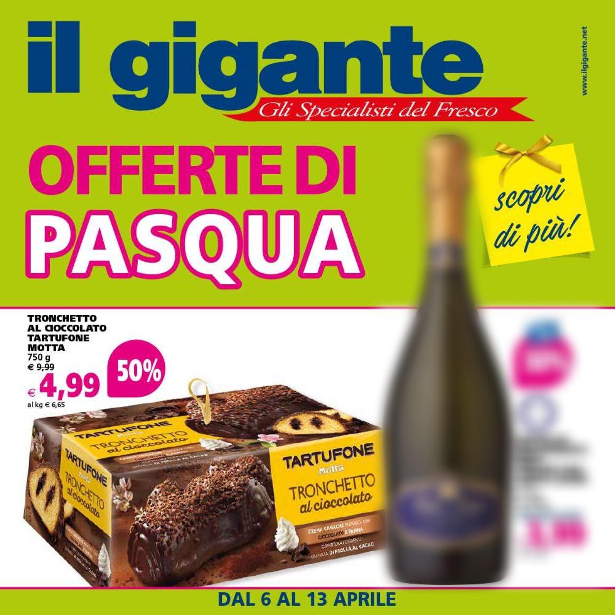 Volantino Il Gigante - Offerte 06/04-13/04/2020
