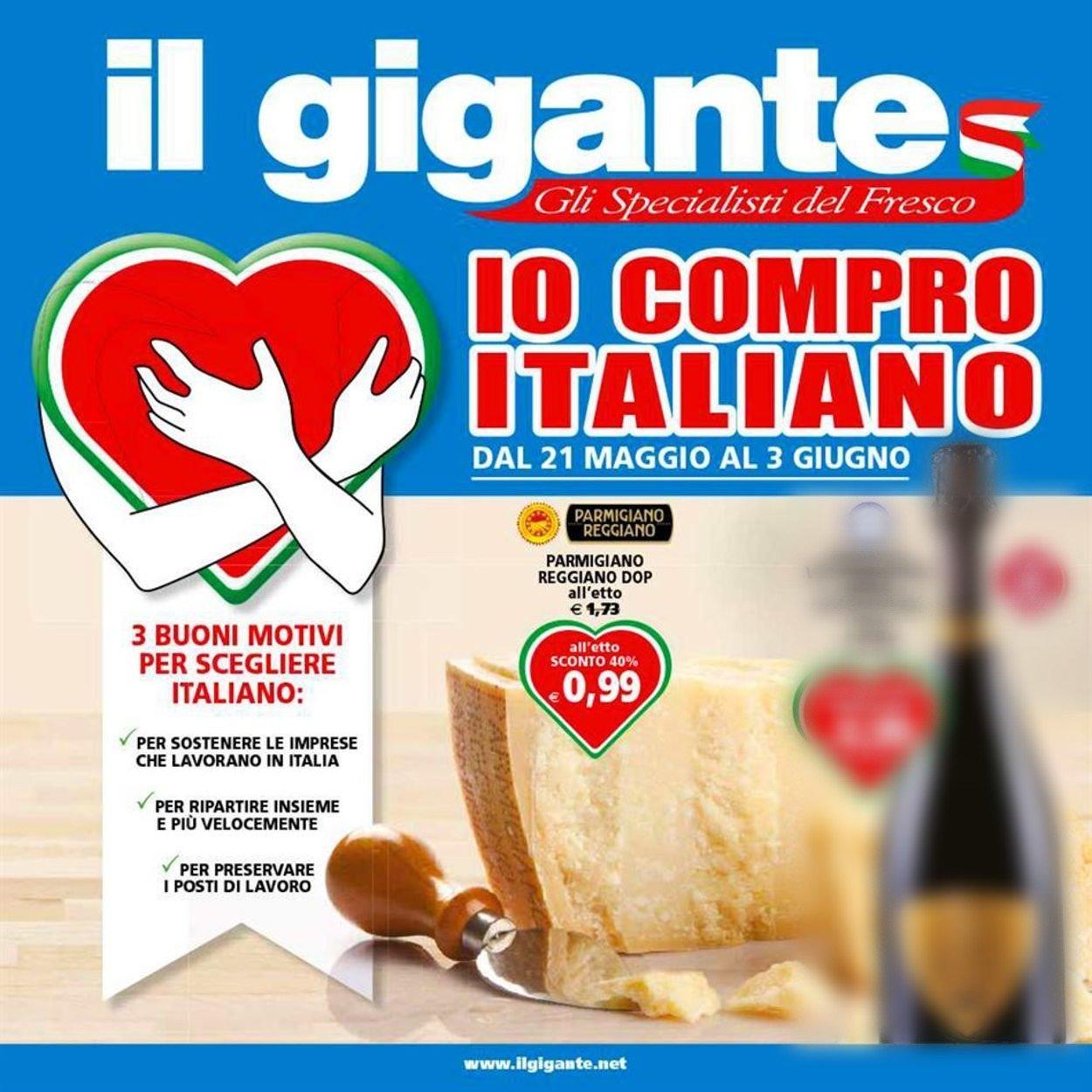 Volantino Il Gigante - Offerte 21/05-03/06/2020