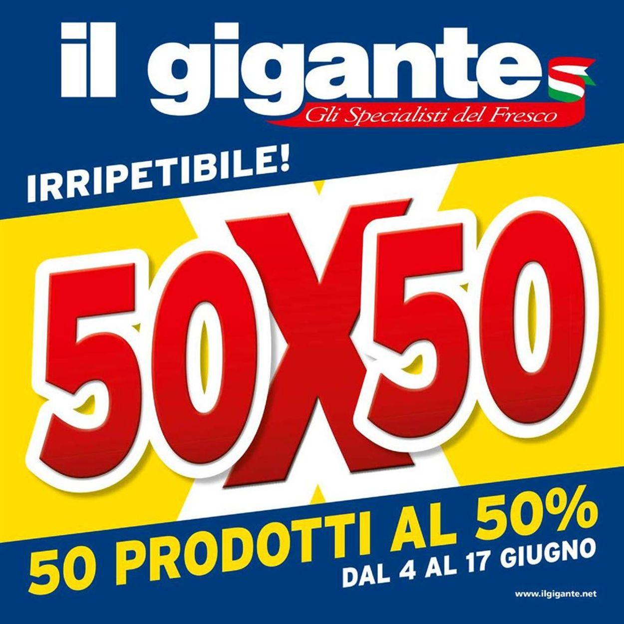 Volantino Il Gigante - Offerte 04/06-17/06/2020