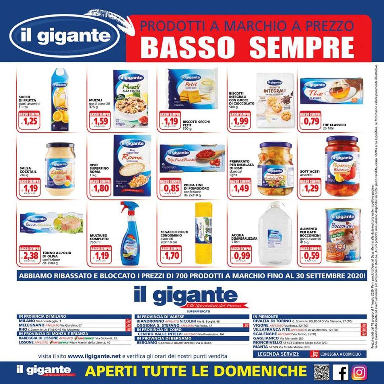 Volantino Il Gigante - Offerte 18/06-01/07/2020 (Pagina 16)