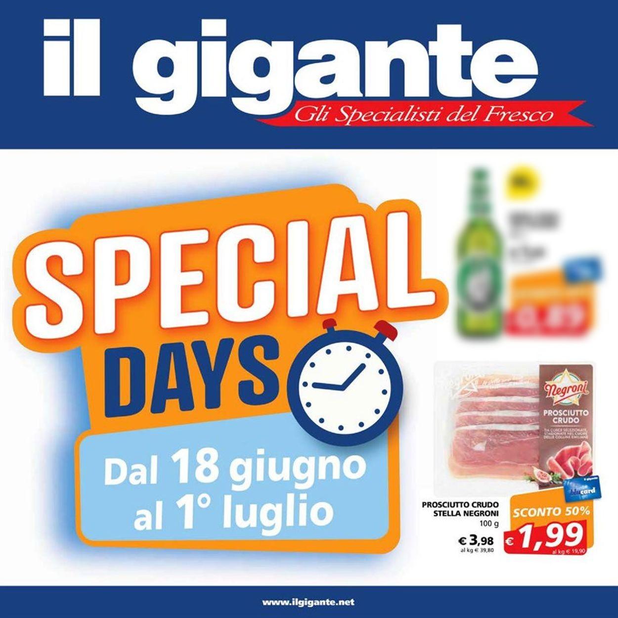 Volantino Il Gigante - Offerte 18/06-01/07/2020