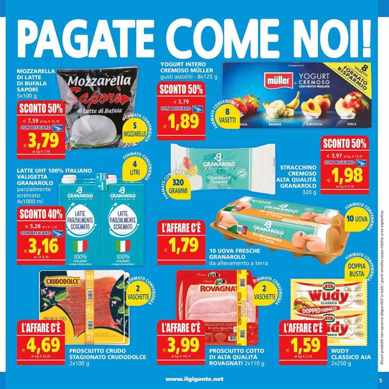 Volantino Il Gigante - Offerte 16/07-29/07/2020 (Pagina 5)