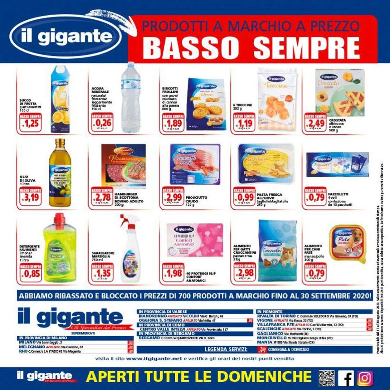 Volantino Il Gigante - Offerte 17/08-30/08/2020 (Pagina 16)