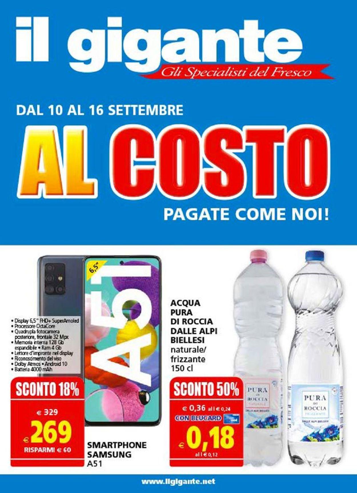 Volantino Il Gigante - Offerte 10/09-16/09/2020