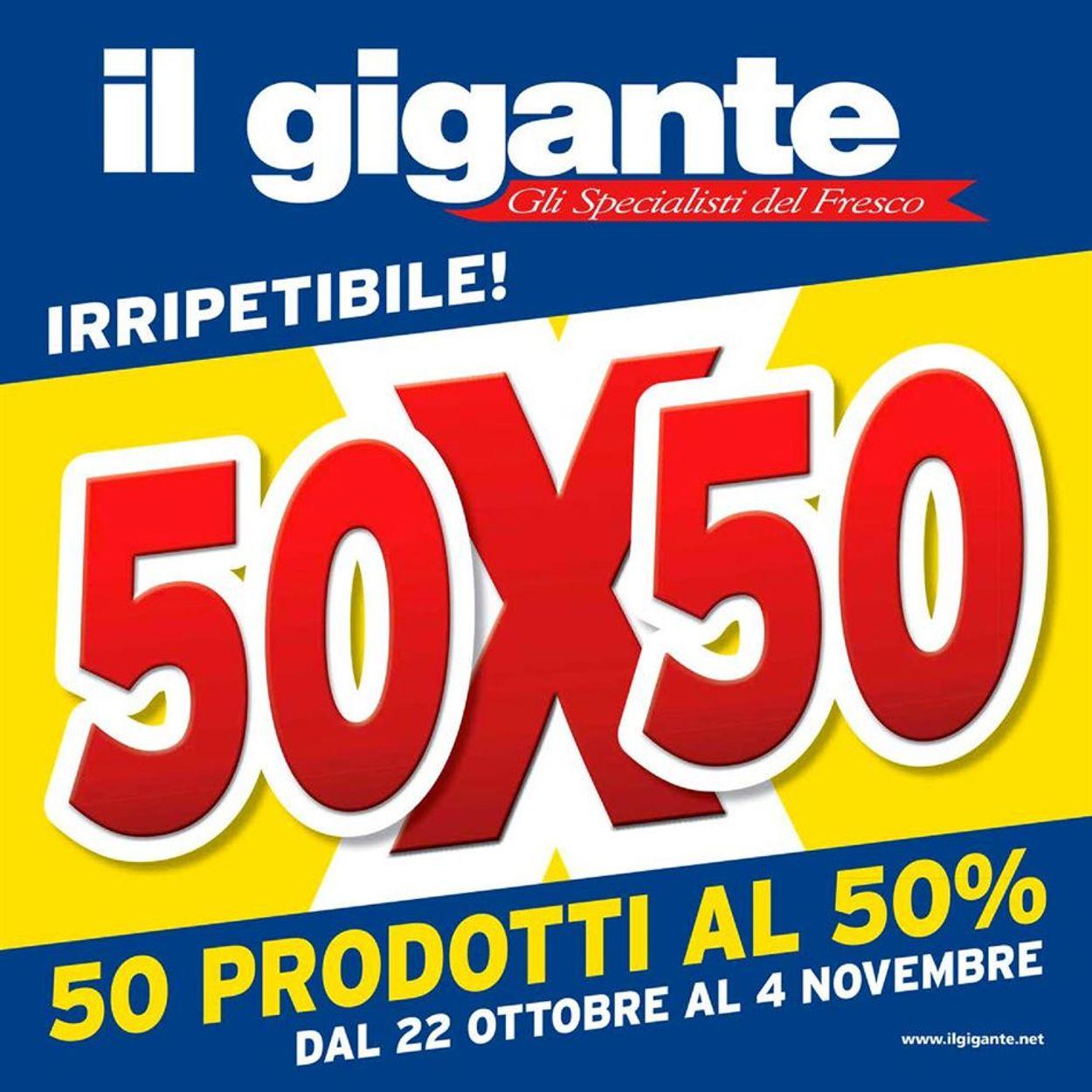 Volantino Il Gigante - Offerte 22/10-04/11/2020
