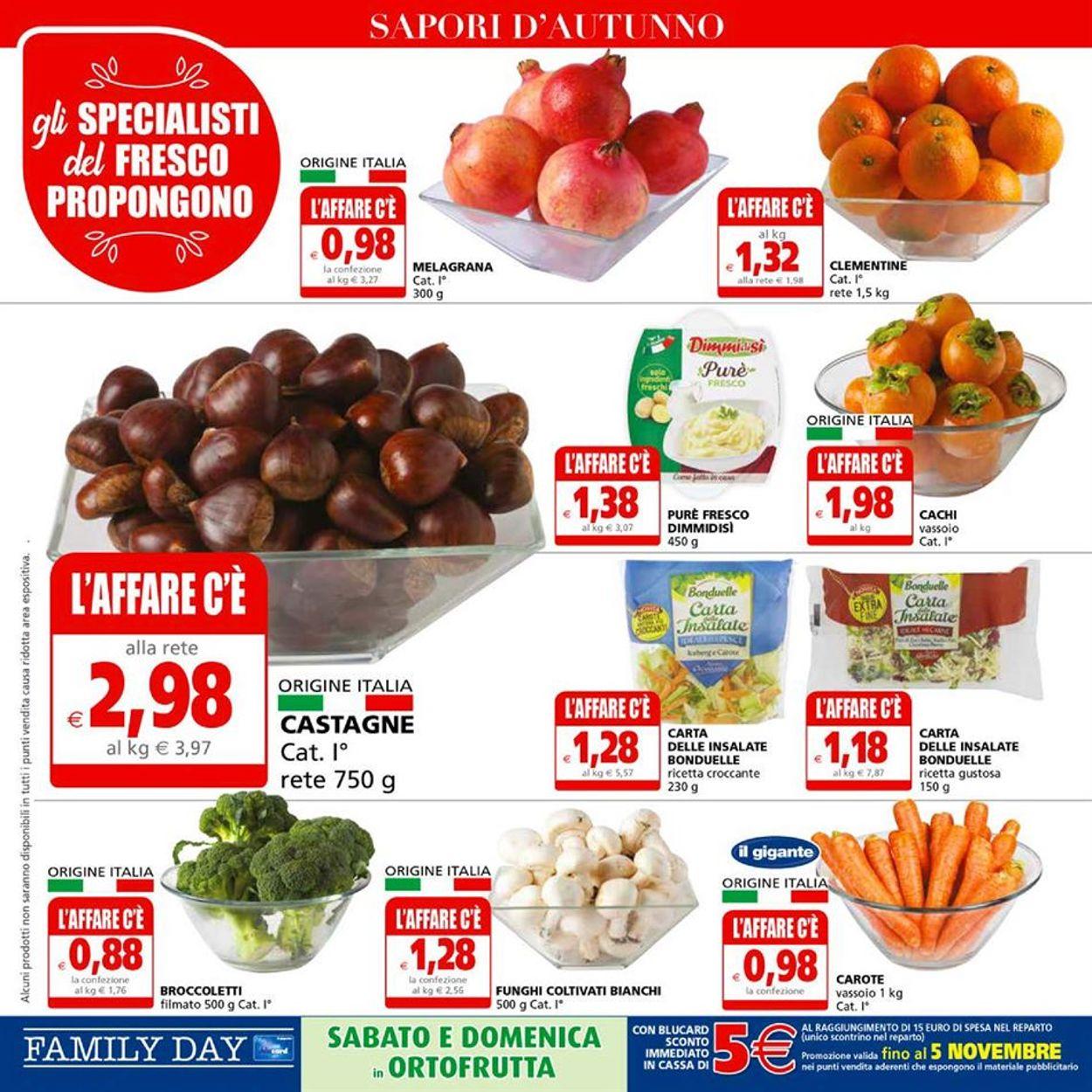 Volantino Il Gigante - Offerte 22/10-04/11/2020 (Pagina 8)