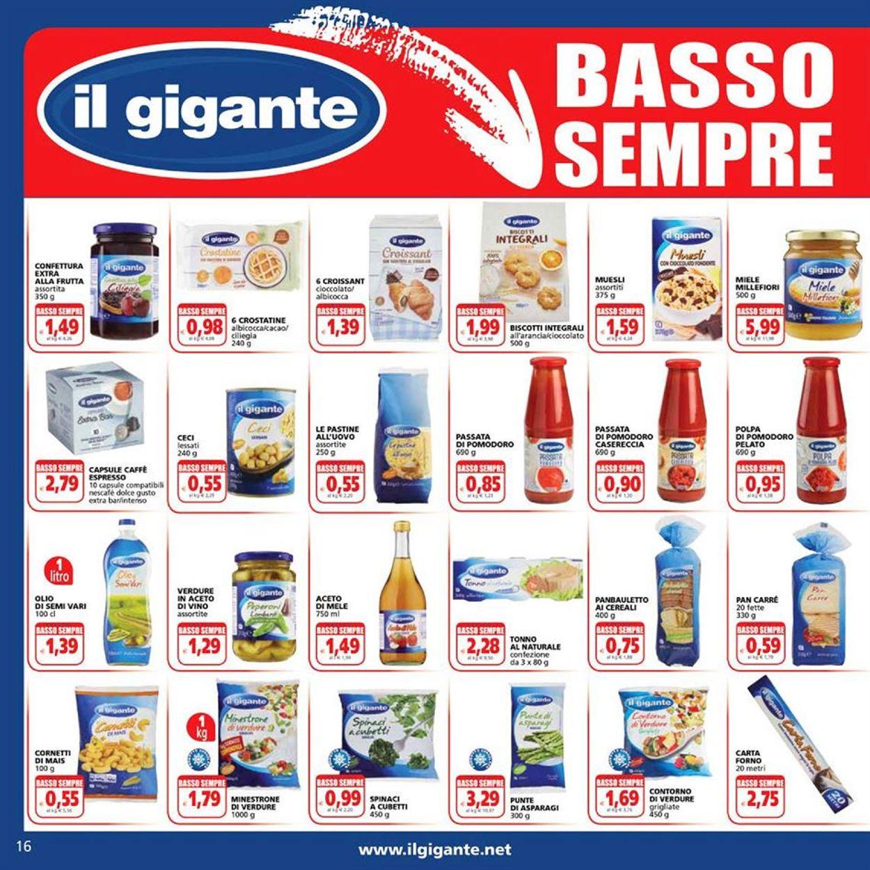 Volantino Il Gigante - Offerte 02/01-13/01/2021 (Pagina 16)