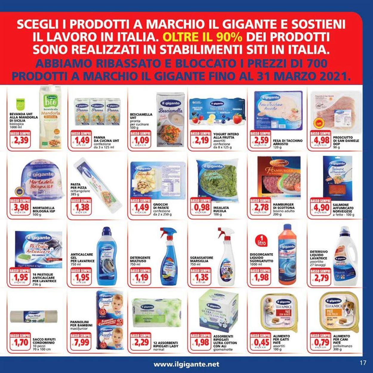 Volantino Il Gigante - Offerte 02/01-13/01/2021 (Pagina 17)