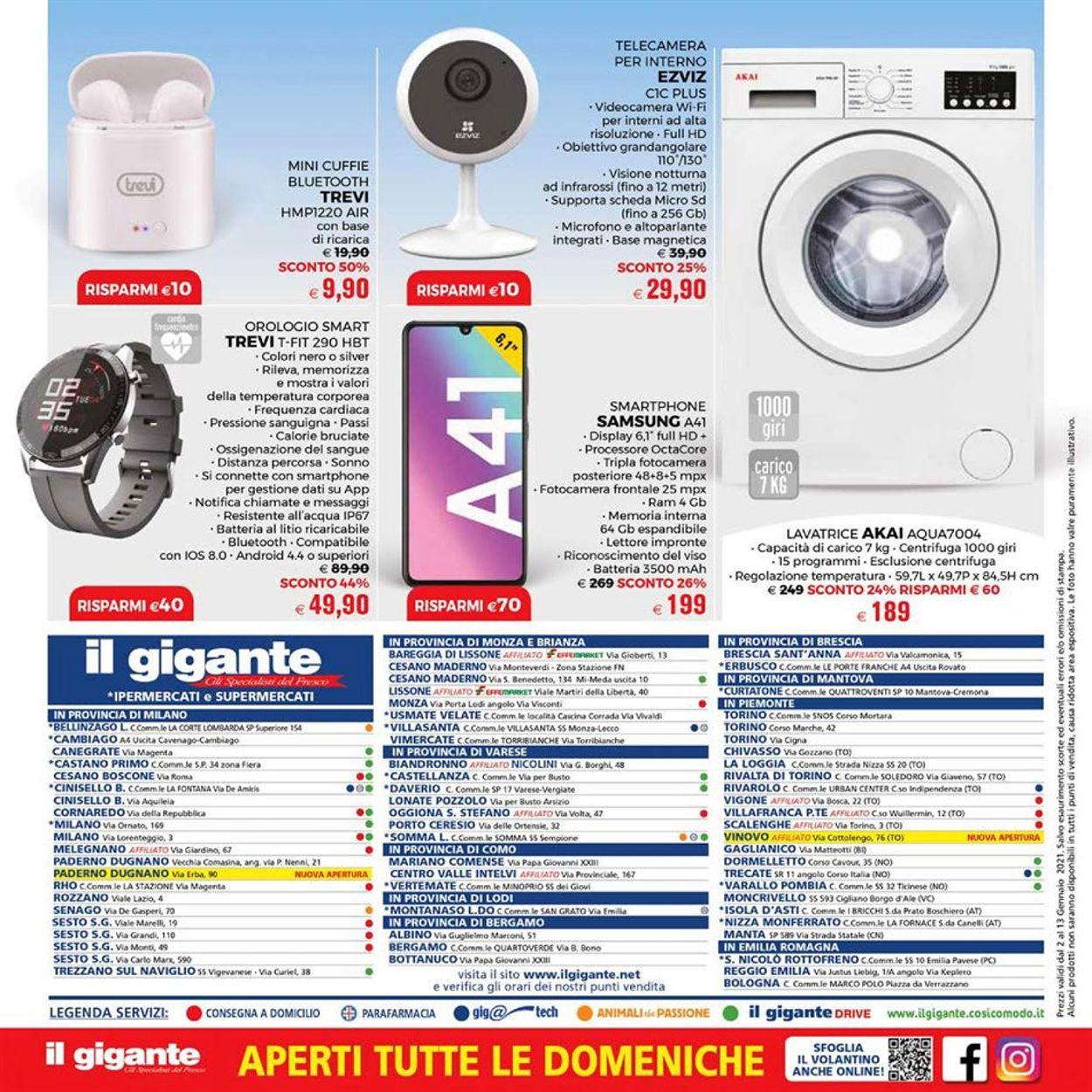 Volantino Il Gigante - Offerte 02/01-13/01/2021 (Pagina 32)
