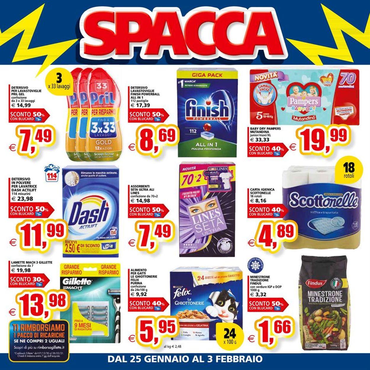 Volantino Il Gigante - Ipermercati - Offerte 25/01-03/02/2021 (Pagina 4)