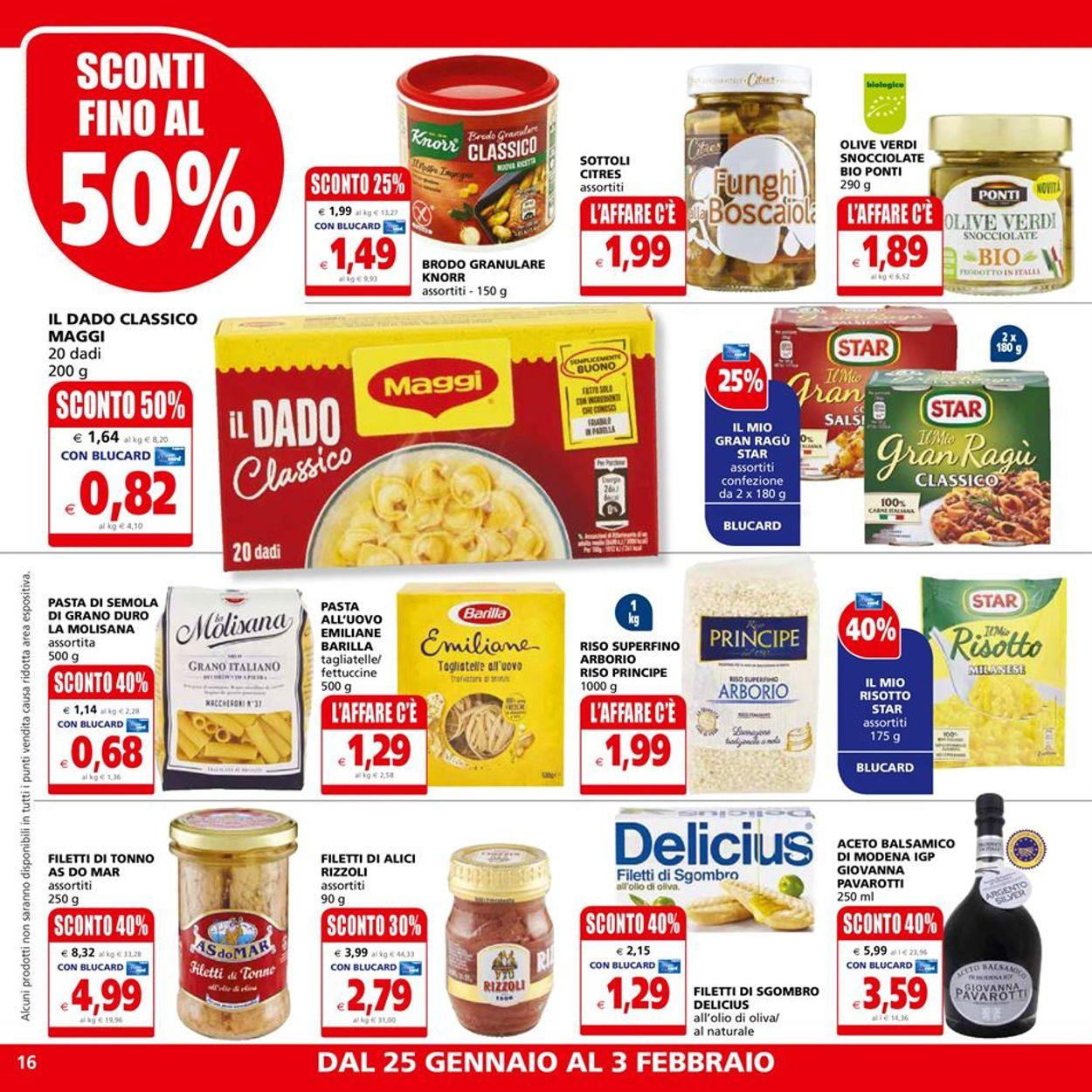 Volantino Il Gigante - Ipermercati - Offerte 25/01-03/02/2021 (Pagina 16)