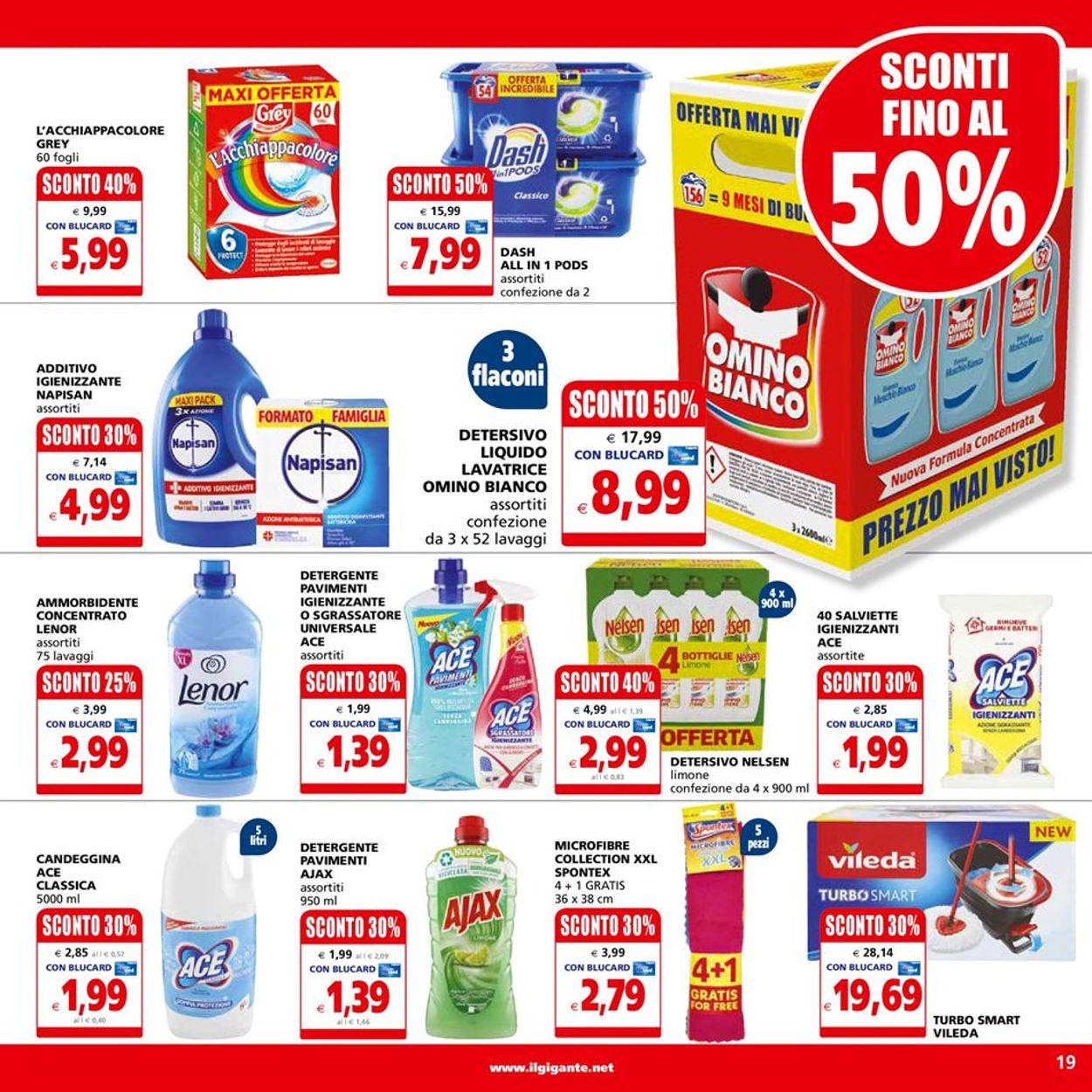 Volantino Il Gigante - Ipermercati - Offerte 25/01-03/02/2021 (Pagina 19)