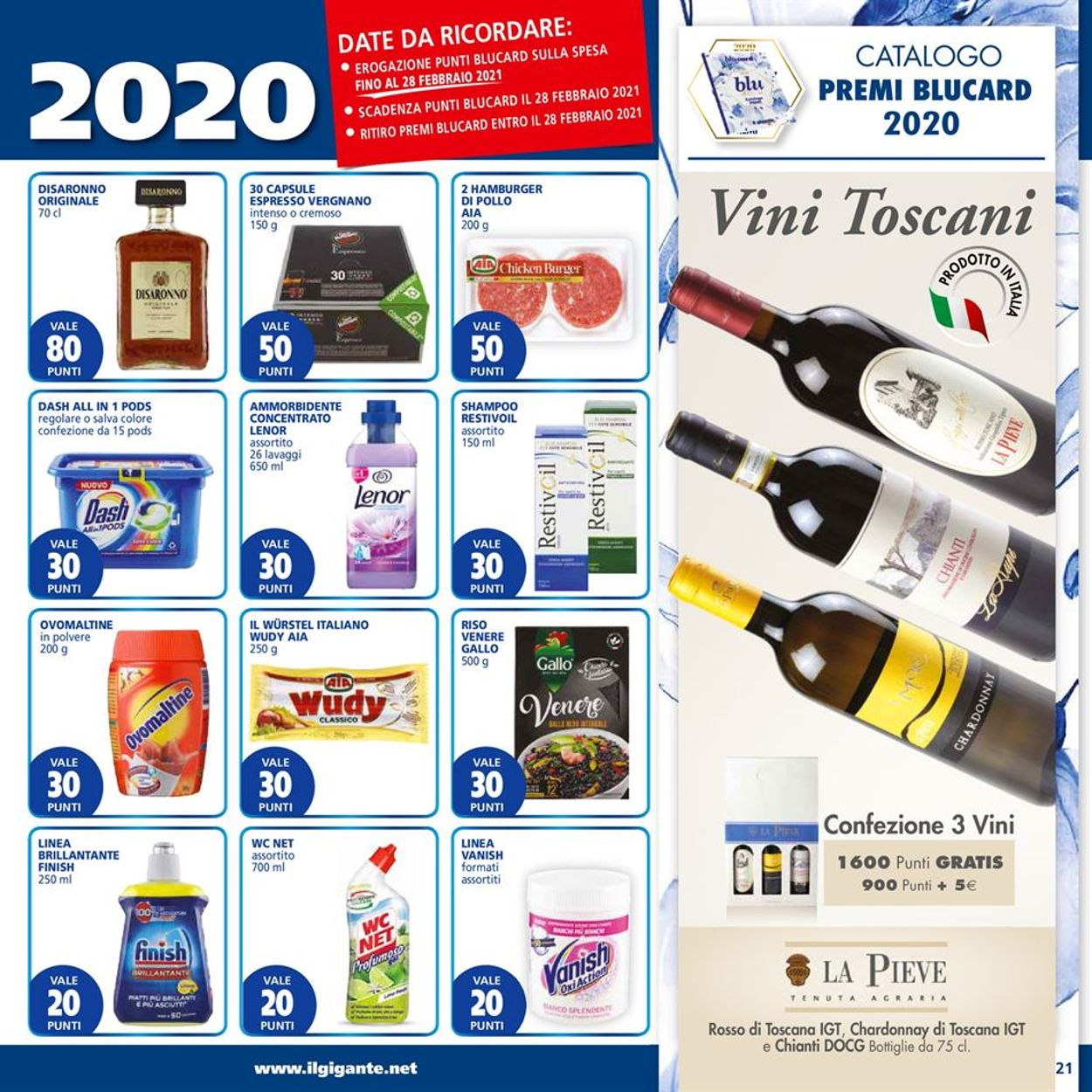 Volantino Il Gigante - Ipermercati - Offerte 25/01-03/02/2021 (Pagina 21)