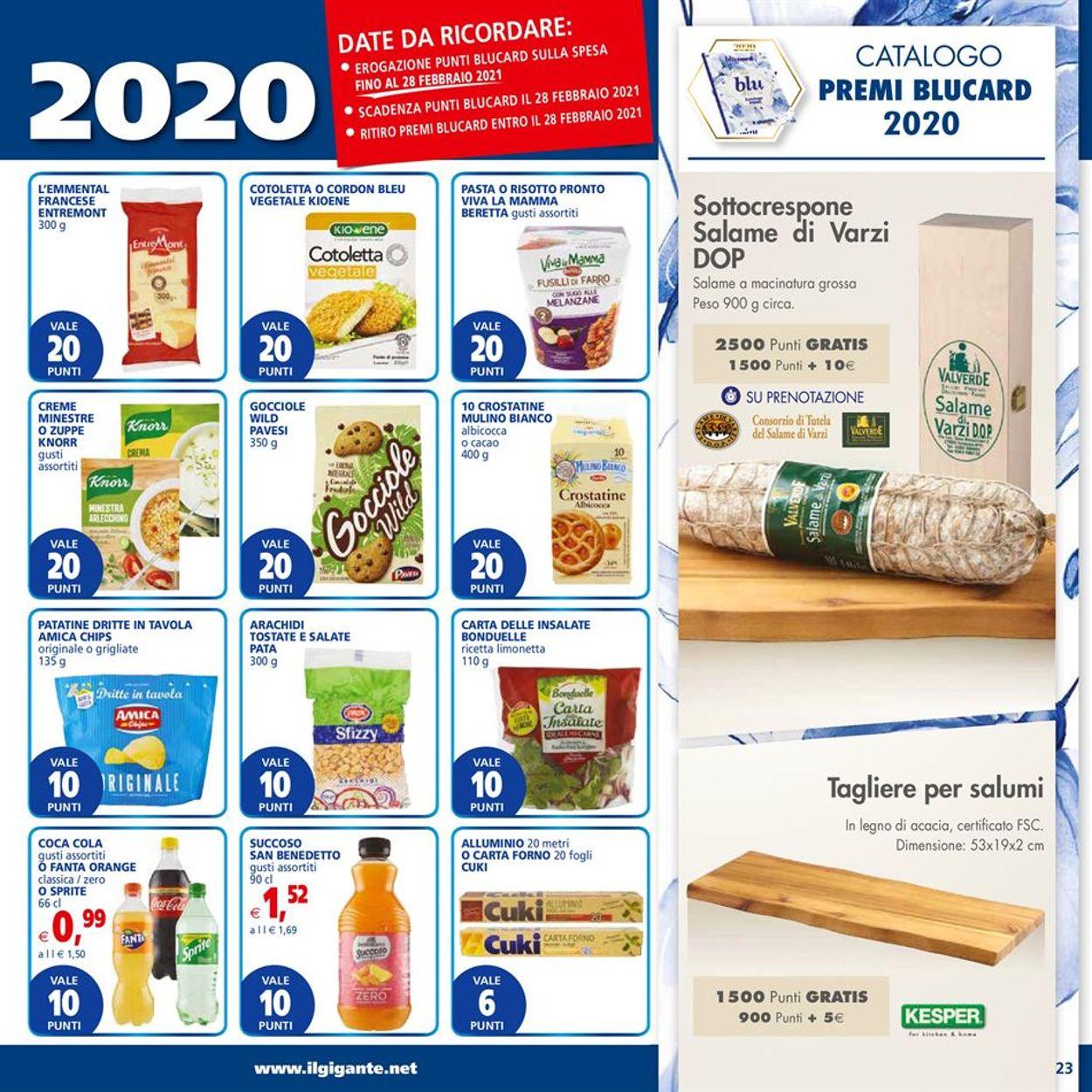 Volantino Il Gigante - Ipermercati - Offerte 25/01-03/02/2021 (Pagina 23)
