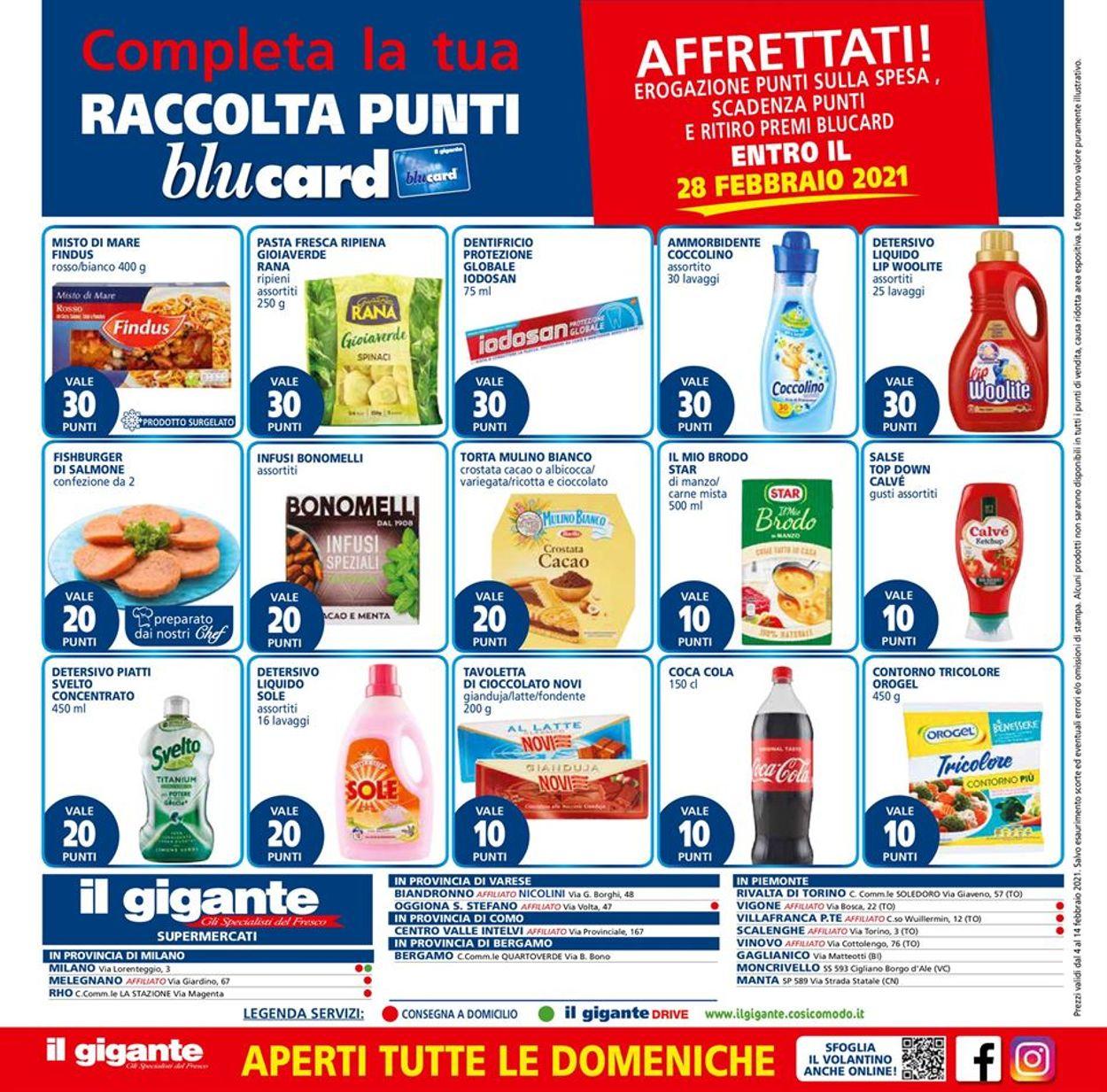 Volantino Il Gigante - Offerte 04/02-14/02/2021 (Pagina 16)