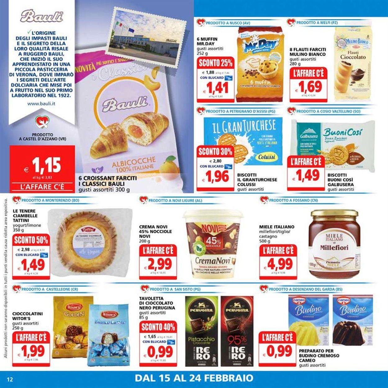 Volantino Il Gigante Supermercati - Offerte 15/02-24/02/2021 (Pagina 12)