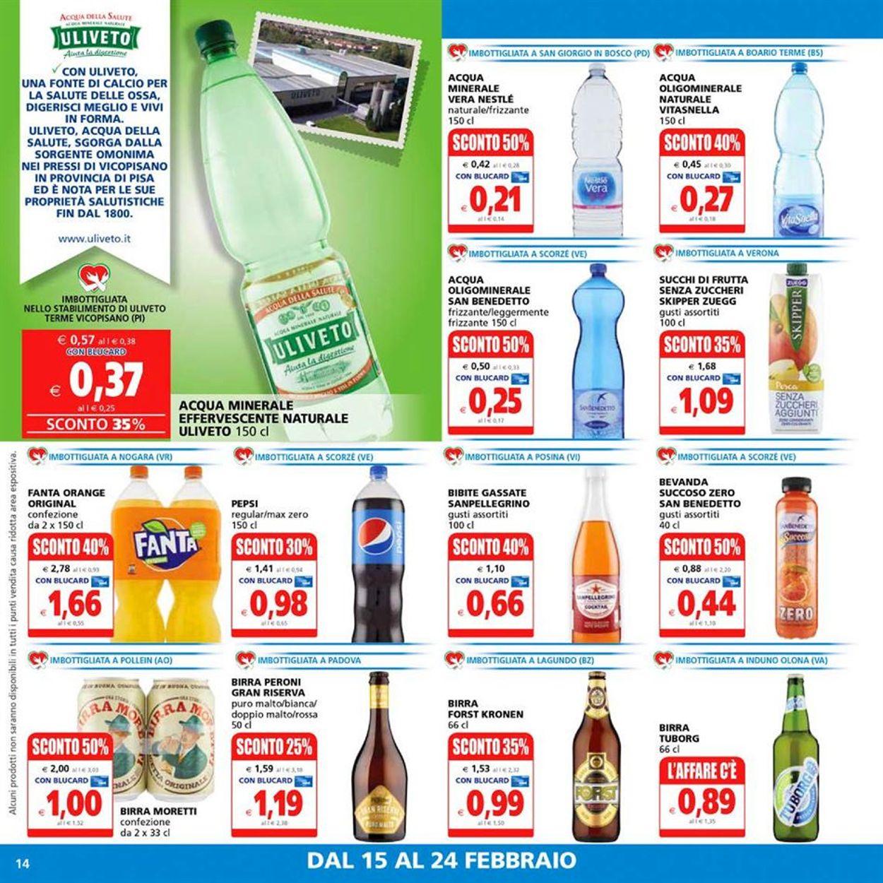 Volantino Il Gigante Supermercati - Offerte 15/02-24/02/2021 (Pagina 14)