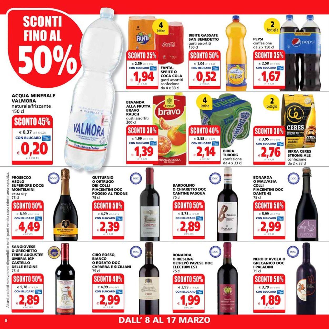Volantino Il Gigante - Offerte 08/03-17/03/2021 (Pagina 8)