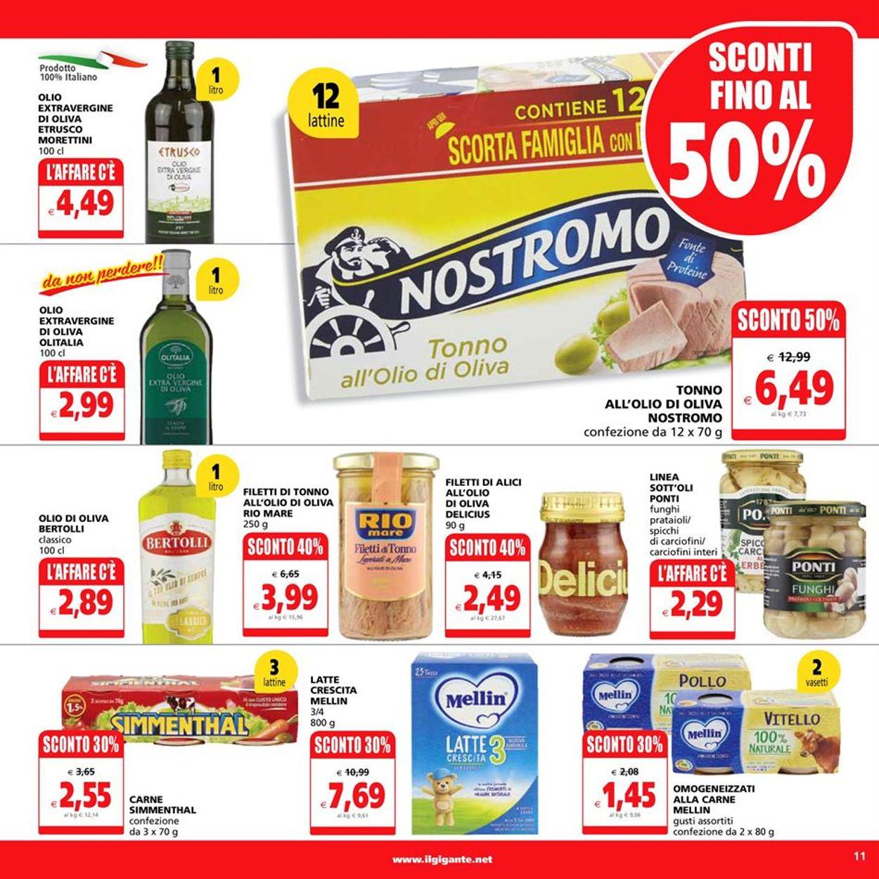 Volantino Il Gigante - Offerte 08/03-17/03/2021 (Pagina 11)