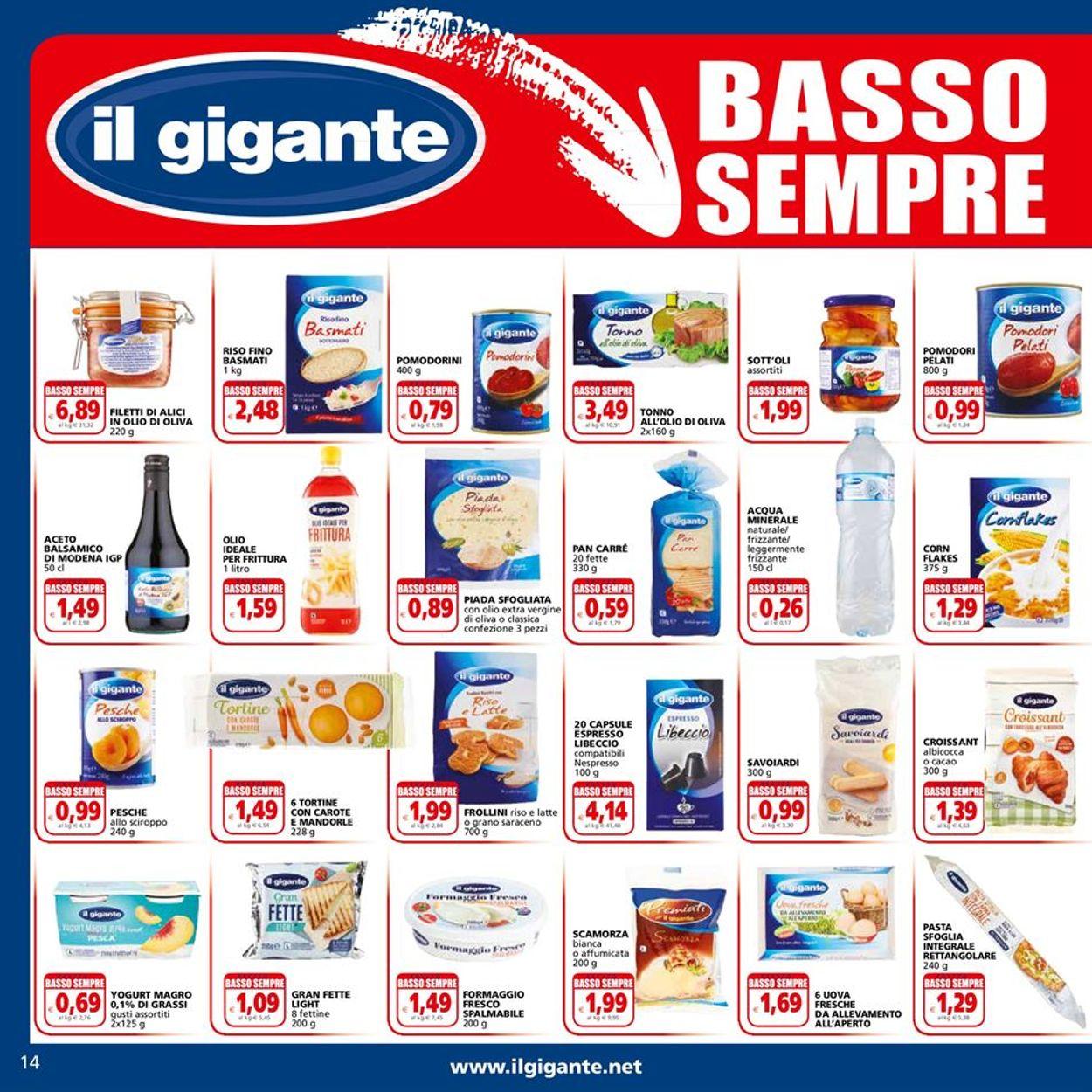 Volantino Il Gigante - Offerte 06/04-18/04/2021 (Pagina 14)