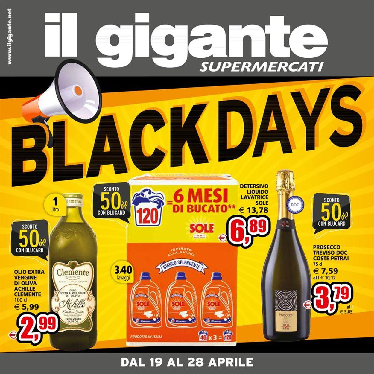 Volantino Il Gigante - Offerte 19/04-28/04/2021