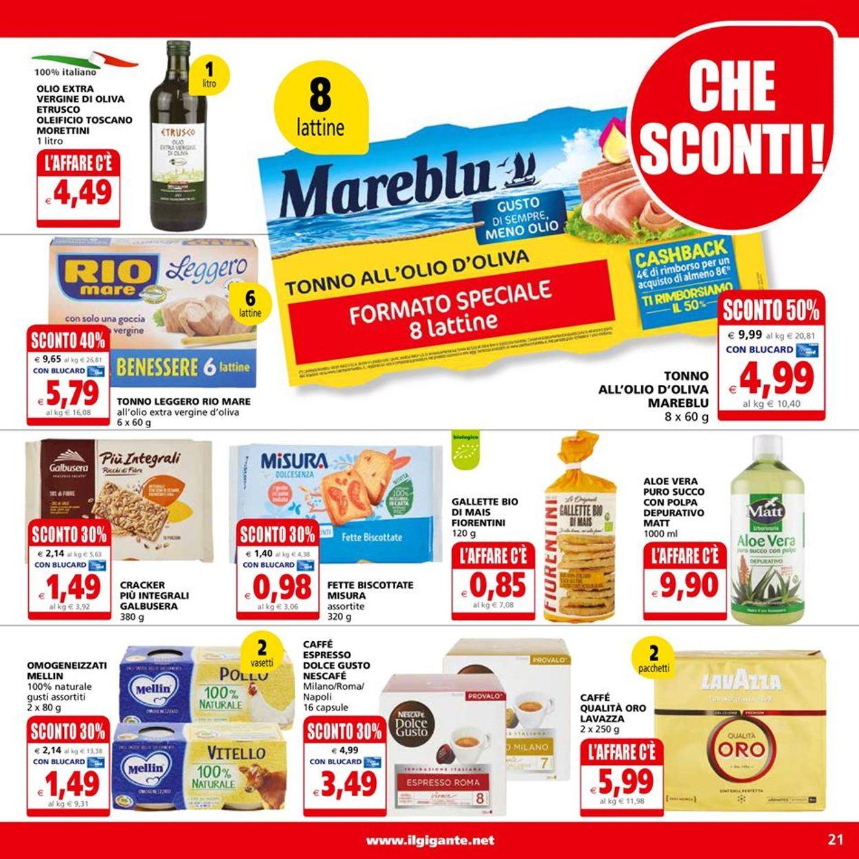 Volantino Il Gigante - Offerte 19/04-28/04/2021 (Pagina 21)