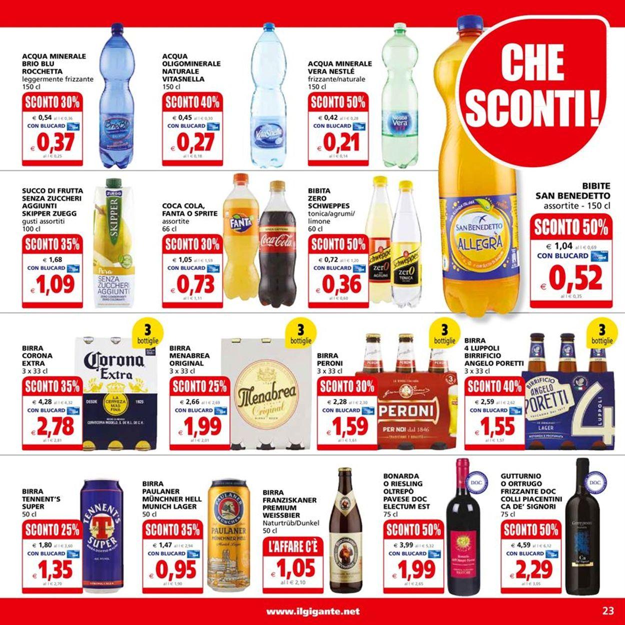 Volantino Il Gigante - Offerte 19/04-28/04/2021 (Pagina 23)