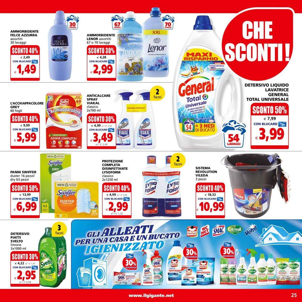 Volantino Il Gigante - Offerte 19/04-28/04/2021 (Pagina 25)