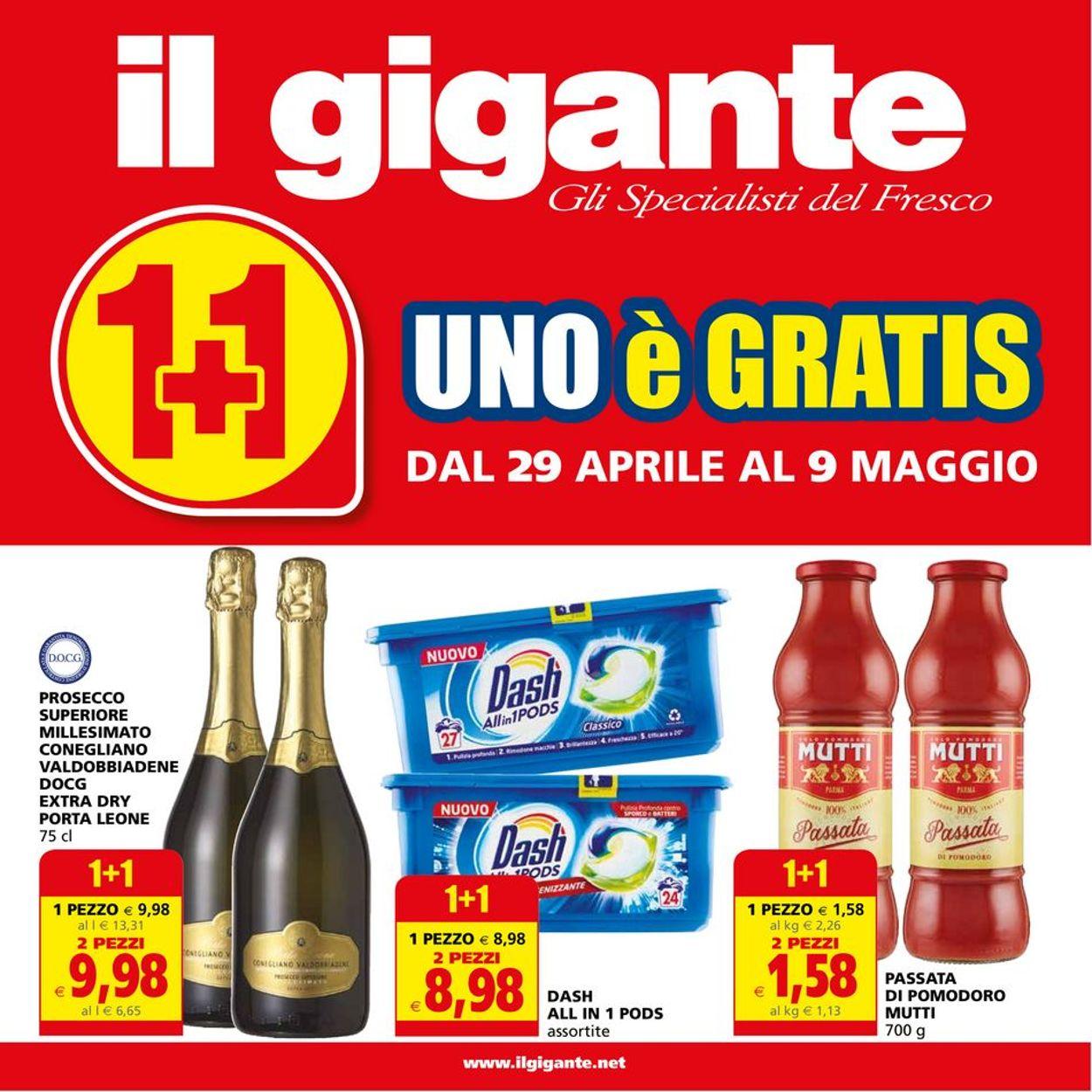 Volantino Il Gigante - Offerte 29/04-09/05/2021