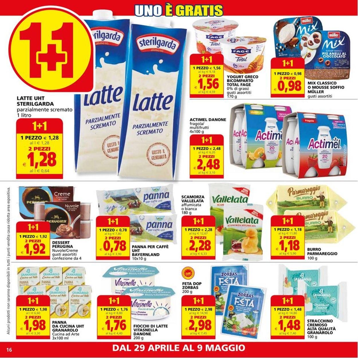Volantino Il Gigante - Offerte 29/04-09/05/2021 (Pagina 16)