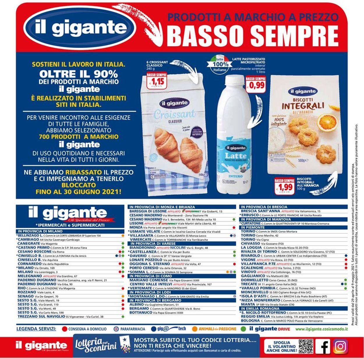 Volantino Il Gigante - Offerte 29/04-09/05/2021 (Pagina 28)