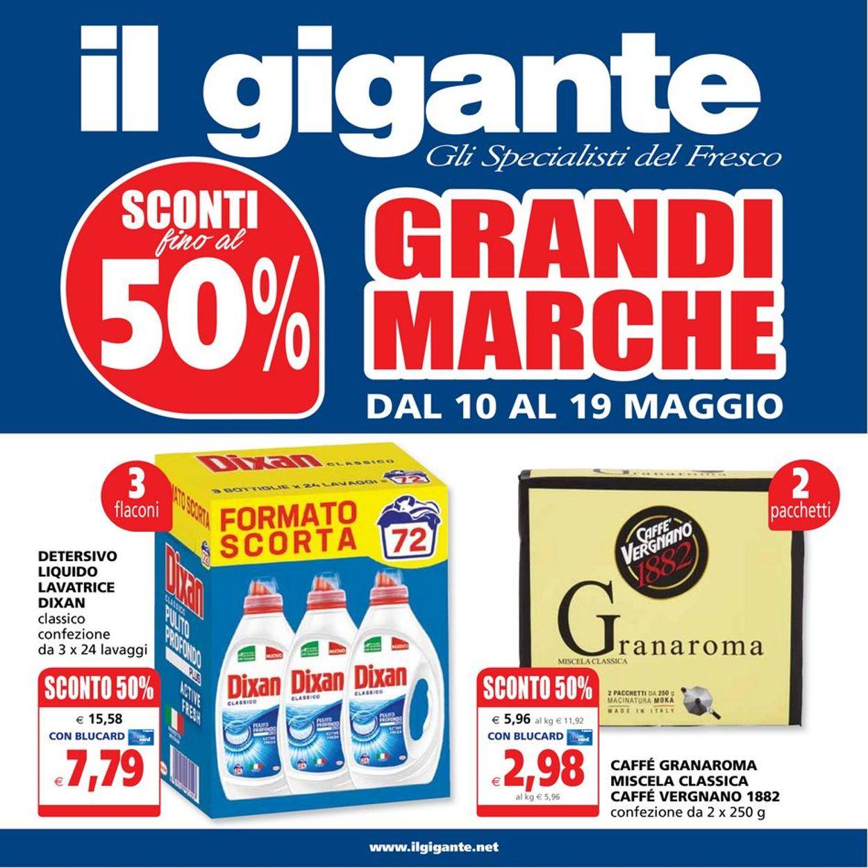 Volantino Il Gigante - Offerte 10/05-19/05/2021