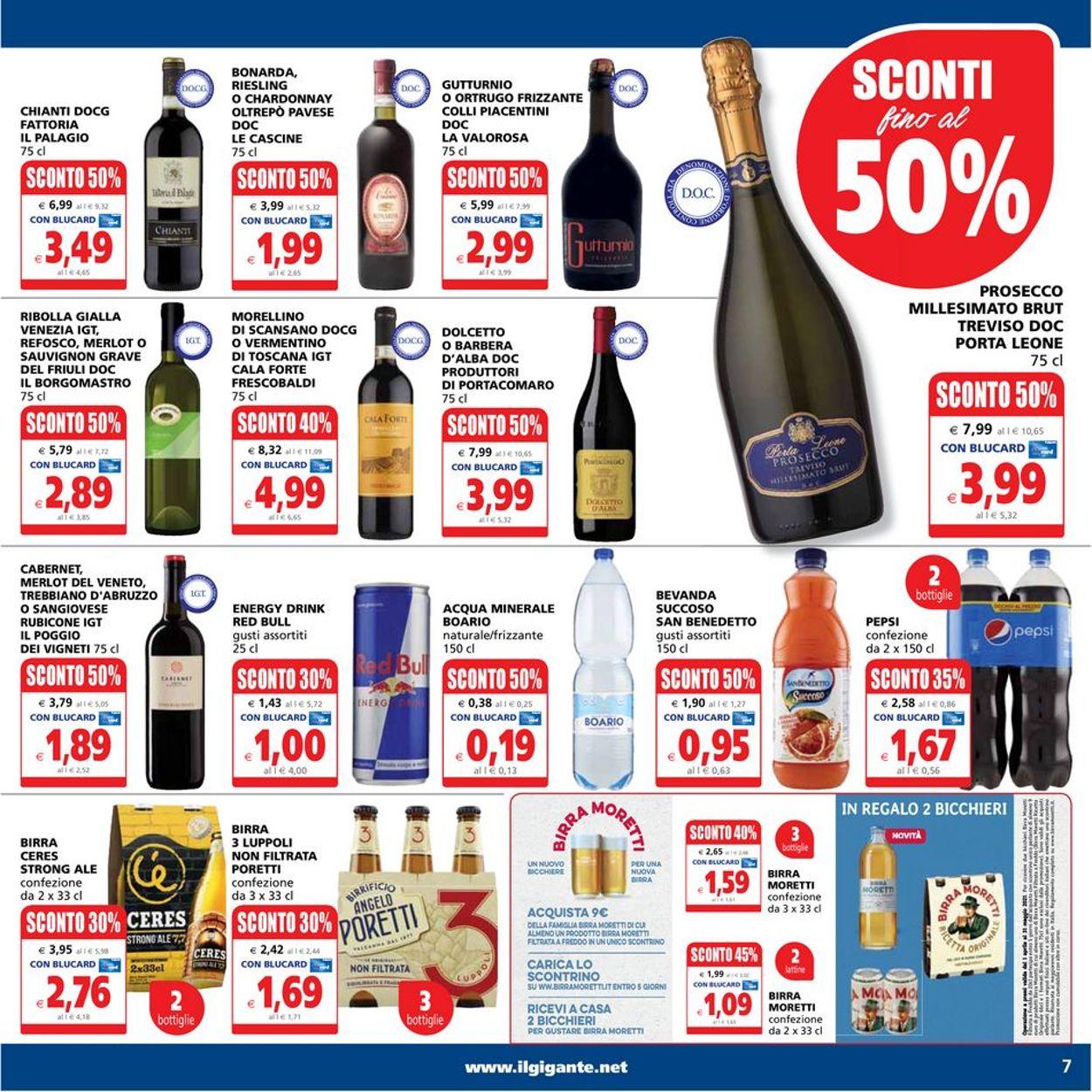Volantino Il Gigante - Offerte 10/05-19/05/2021 (Pagina 7)