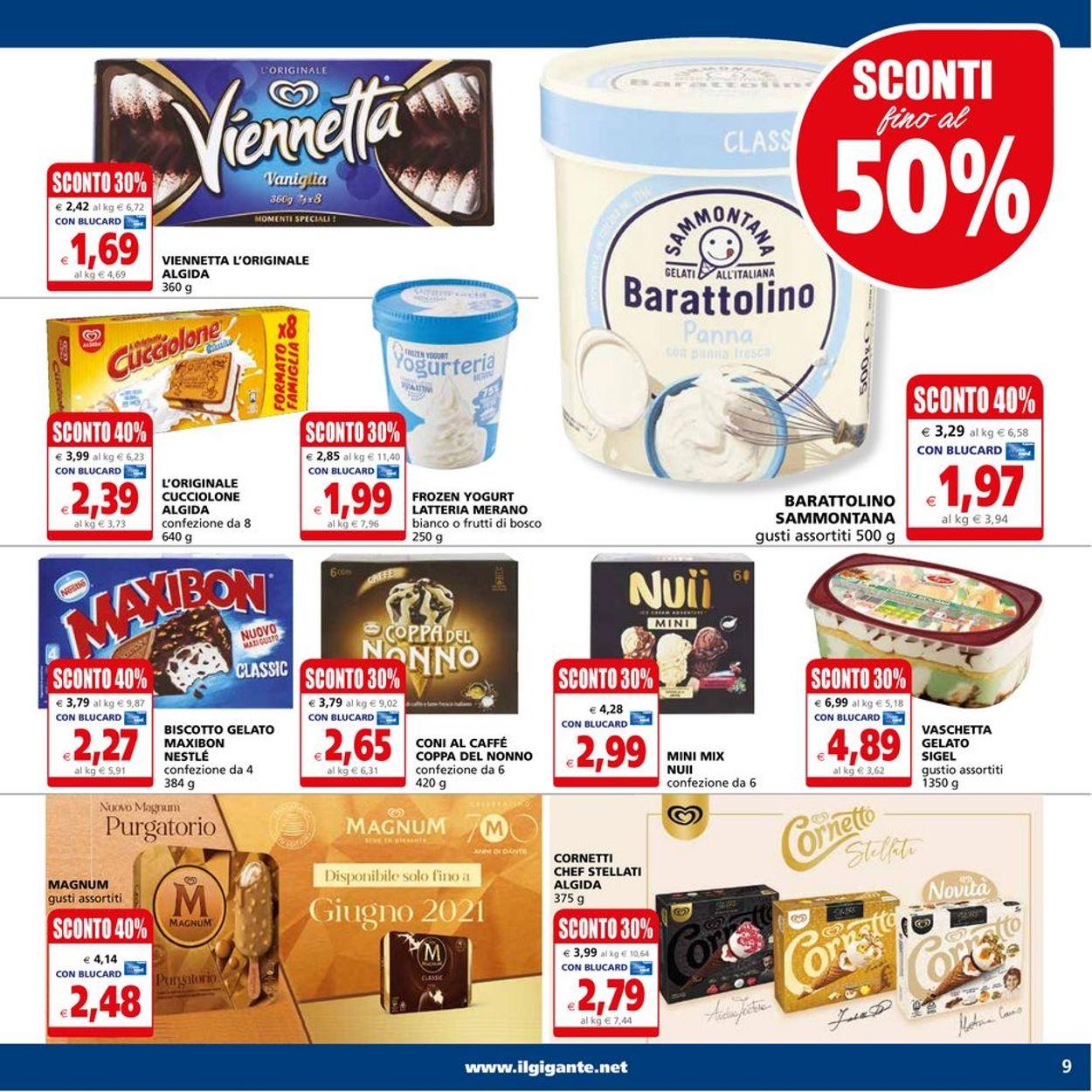 Volantino Il Gigante - Offerte 10/05-19/05/2021 (Pagina 9)