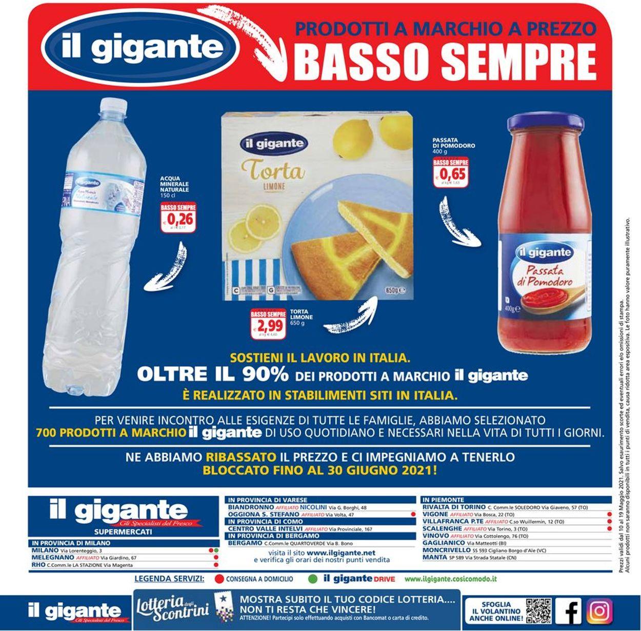Volantino Il Gigante - Offerte 10/05-19/05/2021 (Pagina 16)