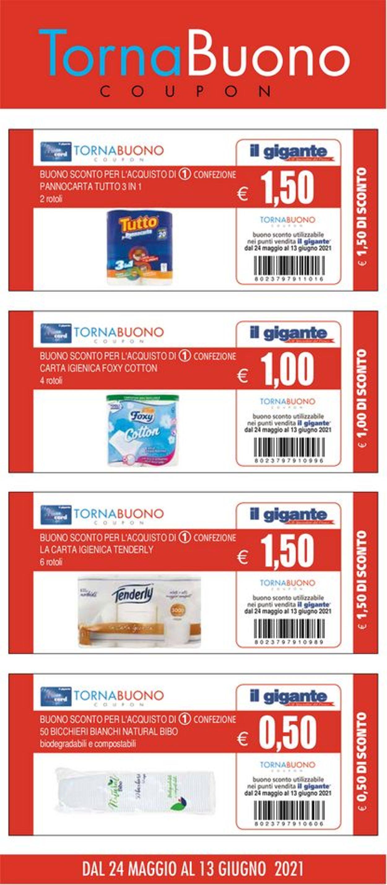 Volantino Il Gigante - Offerte 24/05-13/06/2021 (Pagina 14)